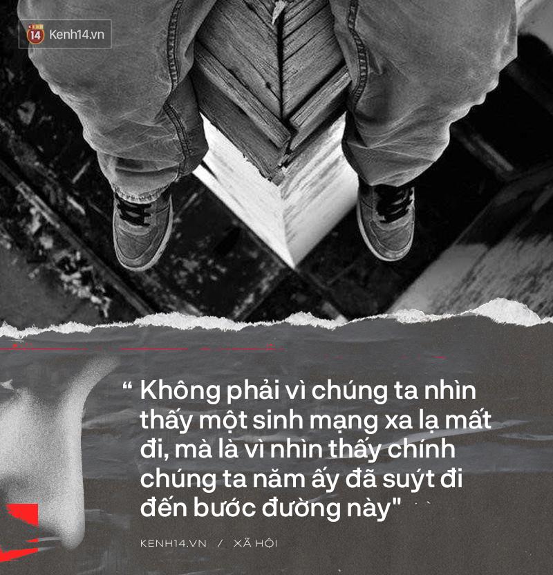 Người trẻ Việt nhìn thấy chính mình vụ nam sinh nhảy cầu tự vẫn trước mặt mẹ: Chúng ta năm ấy đã suýt đi đến bước đường này - Ảnh 5.