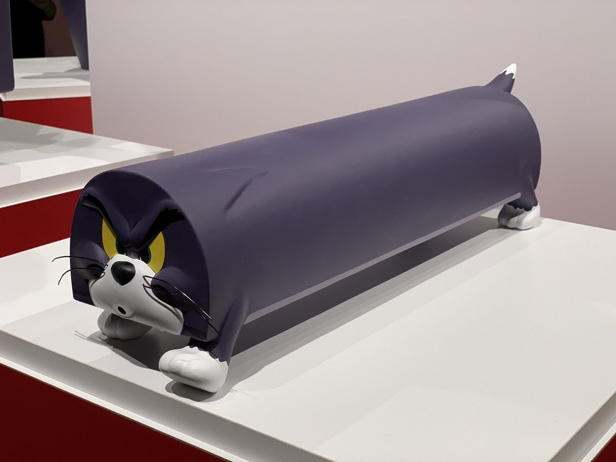 Cả một bầu trời tuổi thơ với triển lãm Tom&Jerry ở Nhật Bản: Hoá ra mèo Tom đã từng bị hành khổ sở thế này đây! - Ảnh 4.