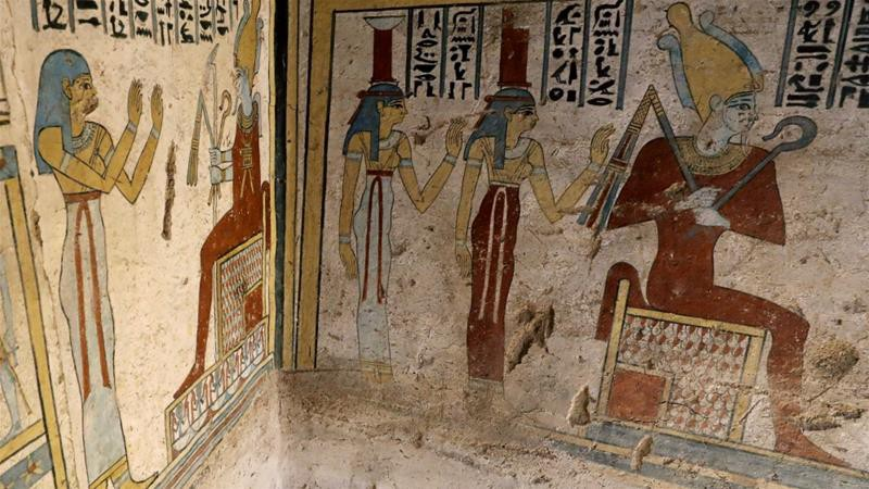 Khai quật 2 lăng mộ Ai Cập kỳ lạ nhất lịch sử: sau 4000 năm mà nước sơn vẫn còn như mới - Ảnh 1.