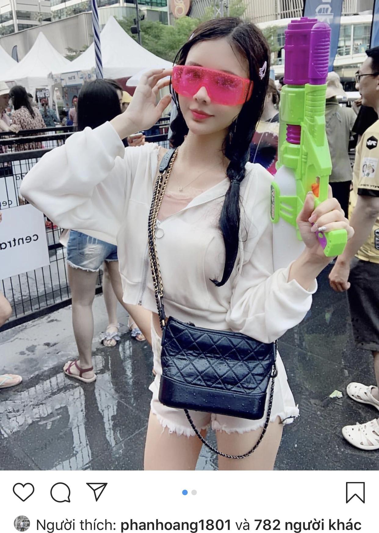 Rộ tin thiếu gia Phan Hoàng có tình mới sau 20 ngày chia tay, thả tim ảnh người đẹp đều như vắt chanh - Ảnh 4.