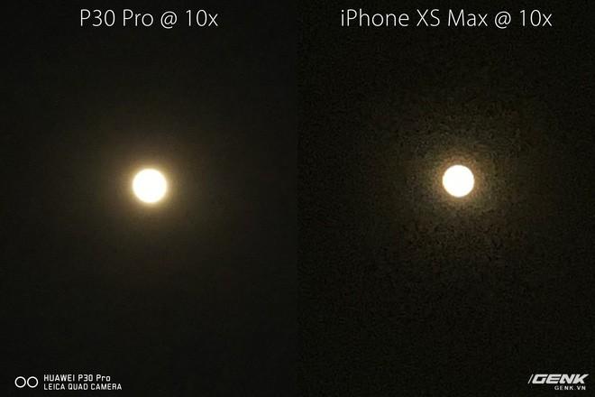Thử chụp zoom trăng bằng Huawei P30 Pro và so sánh với iPhone XS Max - Ảnh 3.
