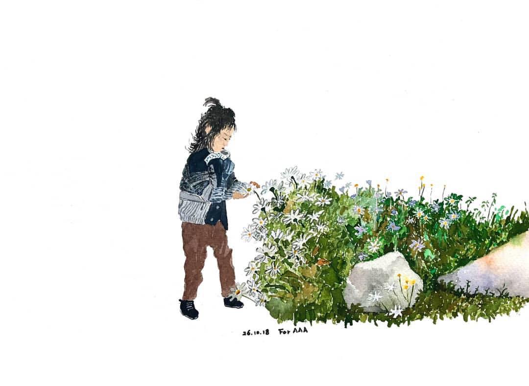 Trang Instagram đặc biệt của ông bà cụ xa xứ: Hàng ngày vẽ tranh để nhắn nhủ với 3 người cháu ở bên kia đại dương - Ảnh 10.