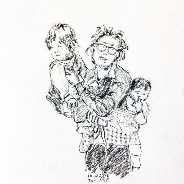 Trang Instagram đặc biệt của ông bà cụ xa xứ: Hàng ngày vẽ tranh để nhắn nhủ với 3 người cháu ở bên kia đại dương - Ảnh 9.
