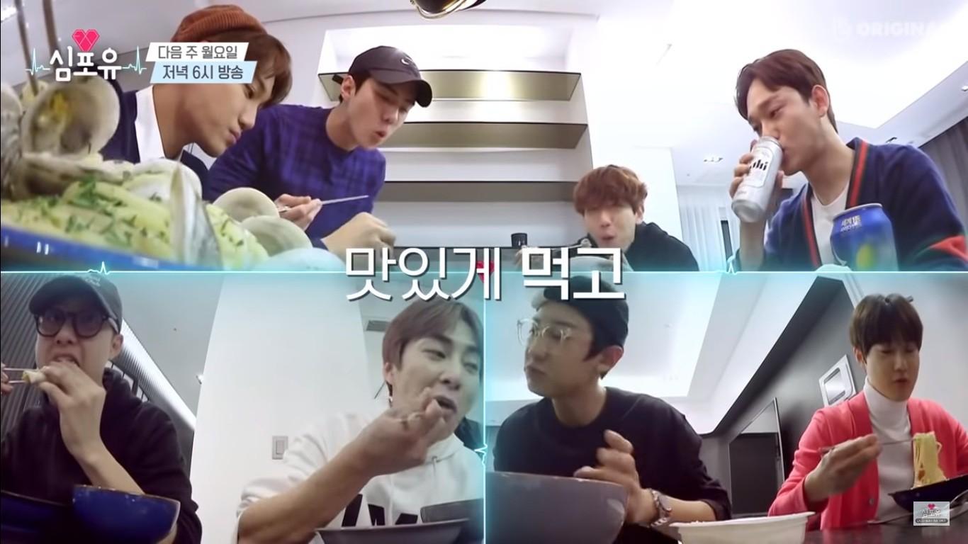 EXO rủ nhau ăn tân gia nhà Xiumin, choáng nhất là món quà của Baekhyun & Chanyeol! - Ảnh 2.