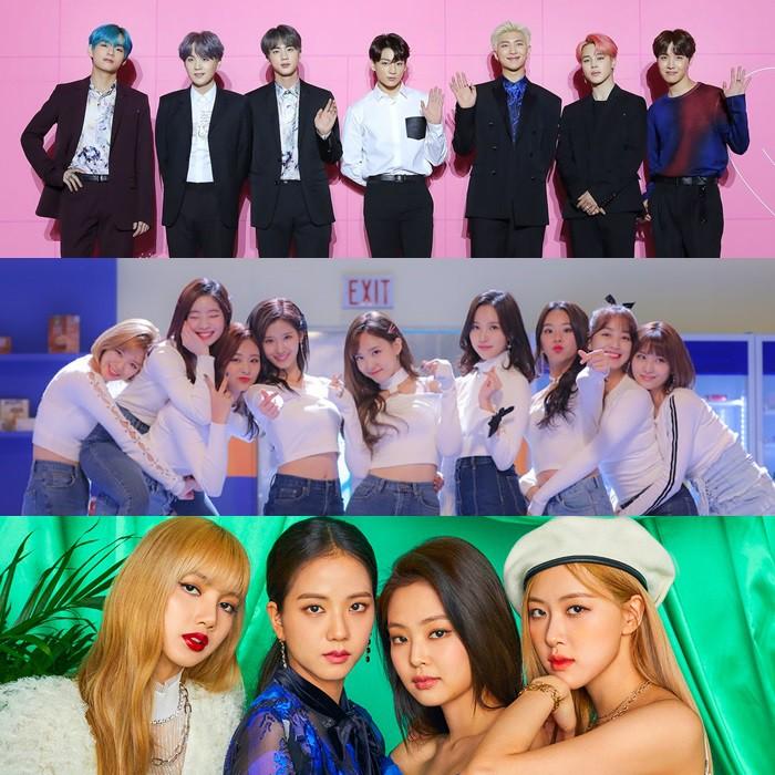So sánh hit mới của TWICE, BLACKPINK, BTS trên các BXH âm nhạc: Lép vế nhất là ai? - Ảnh 1.