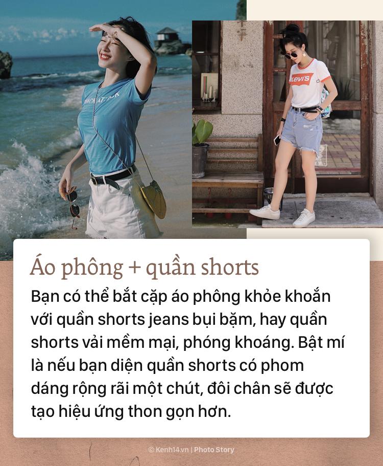 Mùa hè nóng nực, các nàng hãy cập nhật ngay công thức mix đồ với t-shirt để vừa mát mẻ lại không bị nhạt nhoà - Ảnh 9.