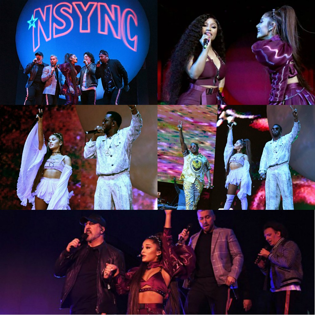 Không phải Nicki Minaj hay NSYNC, đây mới chính là khách mời duy nhất khiến ai cũng ngỡ ngàng tại sân khấu Coachella của Ariana Grande - Ảnh 1.