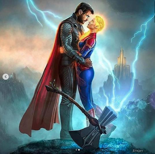 Cười rụng rốn cảnh Spider-Man chụp selfie với Thanos, Iron Man ôm Cap trong vòng tay, Thor và Captain Marvel trao nhau ánh nhìn đắm đuối! - Ảnh 3.