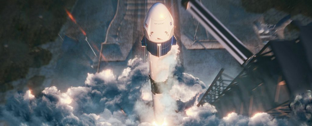 Mối lương duyên SpaceX ft. NASA gặp rắc rối: Xuất hiện video tàu vũ trụ nổ tung khi đang thử nghiệm - Ảnh 1.