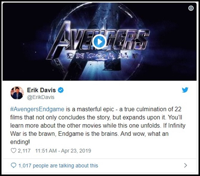 Những khán giả đầu tiên xem Endgame bật khóc: Phim bom tấn đỉnh cao nhất, xúc động nhất từ trước tới nay! - Ảnh 4.