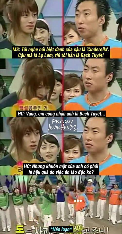 Thánh lầy Heechul (Super Junior) lại chơi nổi khi... cột tóc đuôi gà cài nơ trắng đi chấm thi - Ảnh 5.