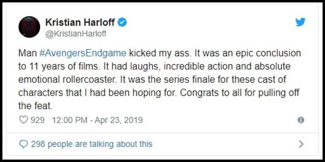 Những khán giả đầu tiên xem Endgame bật khóc: Phim bom tấn đỉnh cao nhất, xúc động nhất từ trước tới nay! - Ảnh 6.
