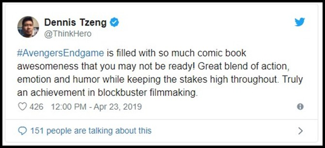 Những khán giả đầu tiên xem Endgame bật khóc: Phim bom tấn đỉnh cao nhất, xúc động nhất từ trước tới nay! - Ảnh 8.