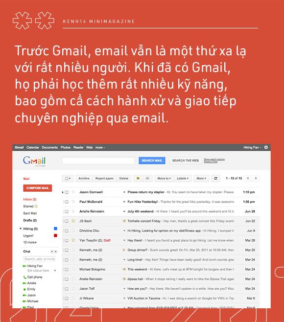 Nếu bạn chưa biết: Google mail đã 15 năm tuổi, và cũng đã 15 năm chúng ta có một môi trường làm việc ảo chuyên nghiệp! - Ảnh 6.