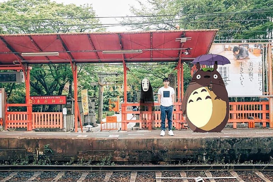 Quay về tuổi thơ với loạt ảnh check-in đúng chuẩn thế giới truyện tranh của Jun Phạm tại Nhật Bản - Ảnh 4.
