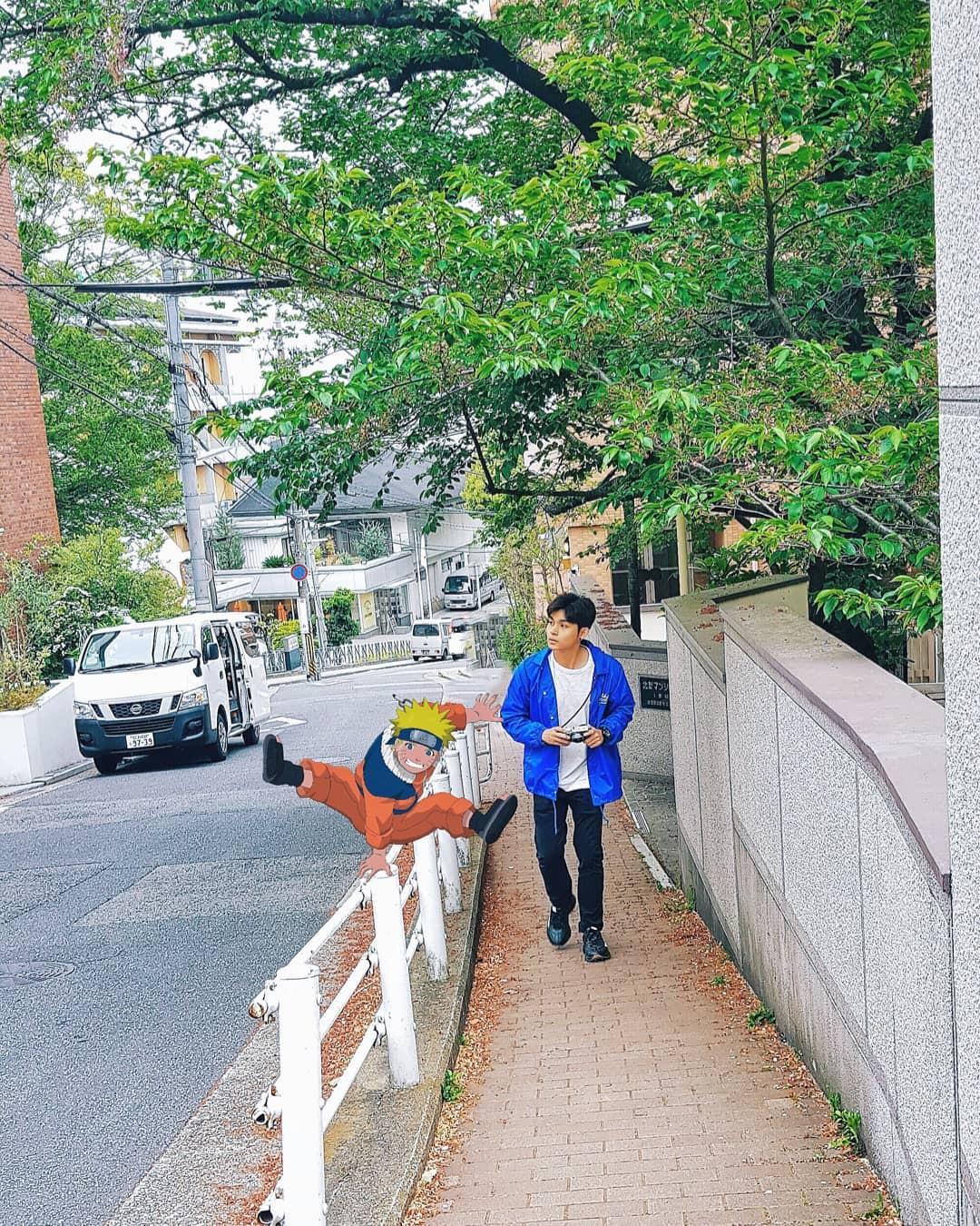 Quay về tuổi thơ với loạt ảnh check-in đúng chuẩn thế giới truyện tranh của Jun Phạm tại Nhật Bản - Ảnh 8.