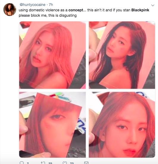 Black Pink dính phốt: Fan quốc tế phẫn nộ tố nhóm biến hình ảnh bạo hành phụ nữ thành công cụ quảng bá - Ảnh 9.