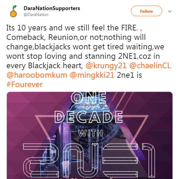 Fan chưa kịp mừng vì tin đồn 2NE1 tái hợp thì Dara đã dập tắt hy vọng thế này rồi! - Ảnh 7.