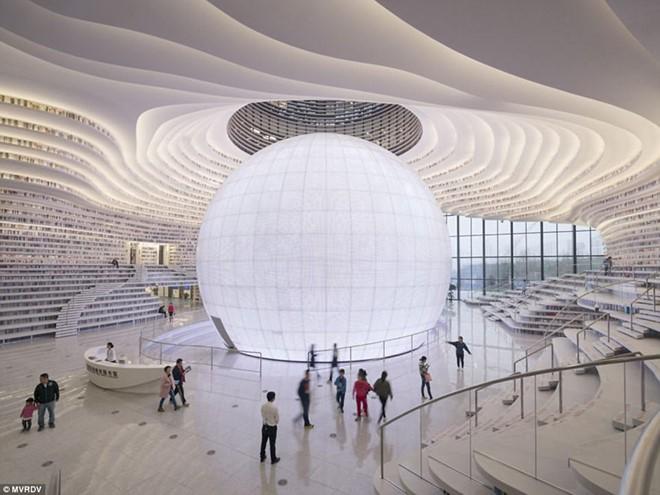 Choáng ngợp với vẻ đẹp của thư viện quốc dân lớn nhất Trung Quốc được check in rầm rộ - Ảnh 11.