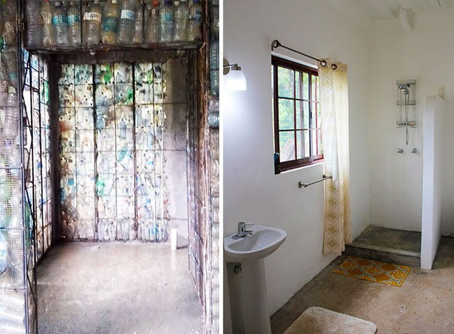 Chiêm ngưỡng ngôi làng độc đáo ở Panama, nơi nhà cửa được làm từ 1 triệu chai nhựa - Ảnh 11.