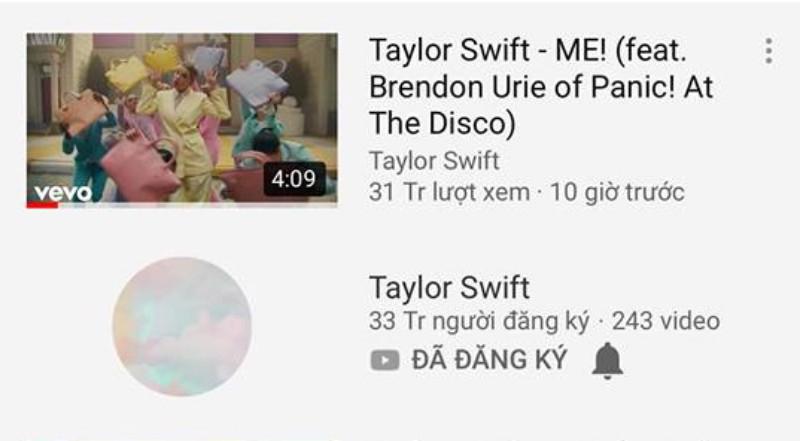Kịch bản cũ của BTS lại diễn ra, nhưng lần này lại là với Taylor