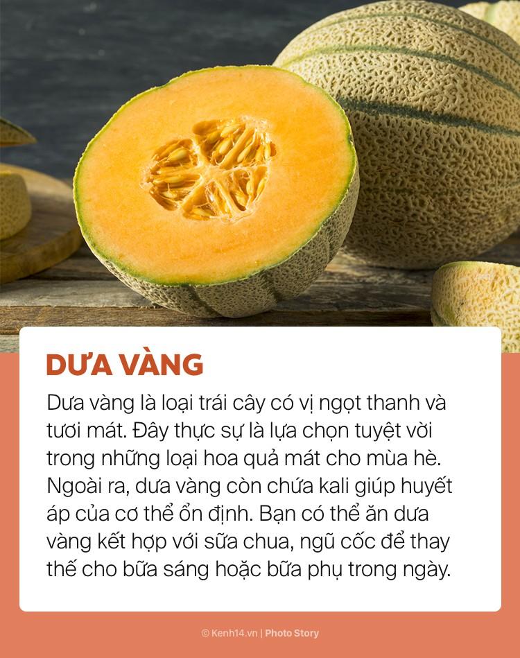 Ngày hè nóng bức giải nhiệt cơ thể không lo mụn nhọt chỉ với những loại trái cây này - Ảnh 11.