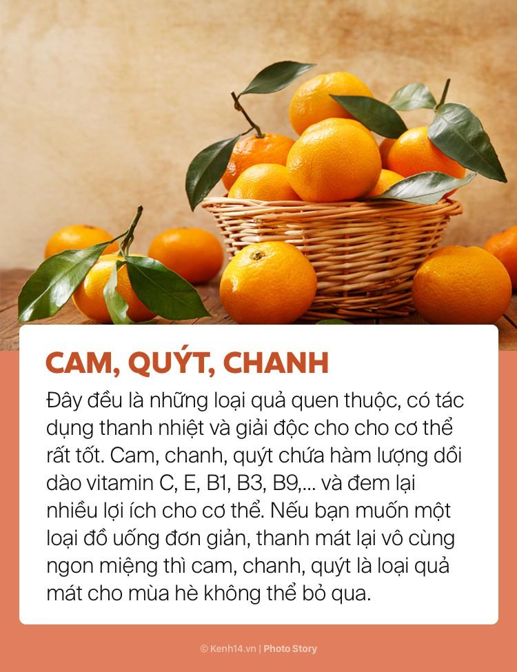 Ngày hè nóng bức giải nhiệt cơ thể không lo mụn nhọt chỉ với những loại trái cây này - Ảnh 7.