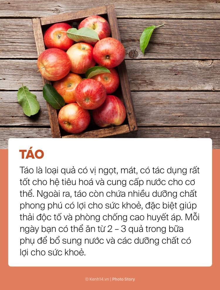 Ngày hè nóng bức giải nhiệt cơ thể không lo mụn nhọt chỉ với những loại trái cây này - Ảnh 5.