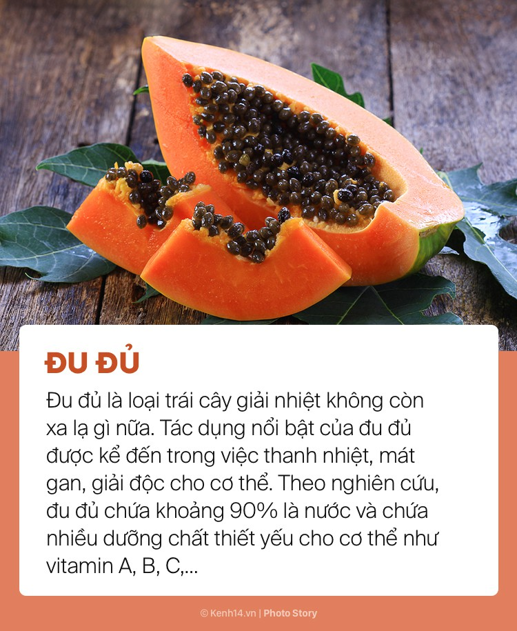 Ngày hè nóng bức giải nhiệt cơ thể không lo mụn nhọt chỉ với những loại trái cây này - Ảnh 3.
