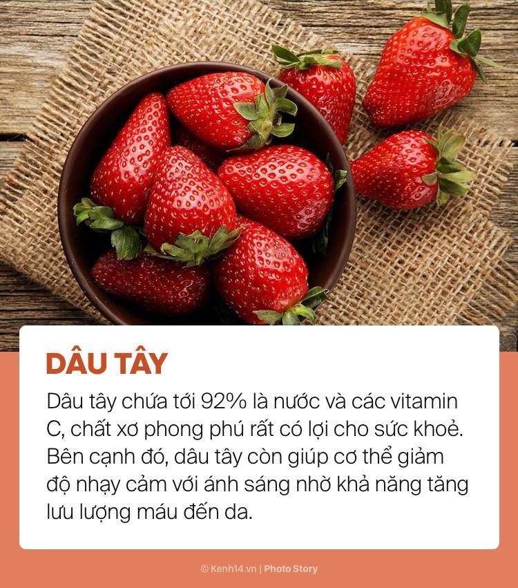 Ngày hè nóng bức giải nhiệt cơ thể không lo mụn nhọt chỉ với những loại trái cây này - Ảnh 1.