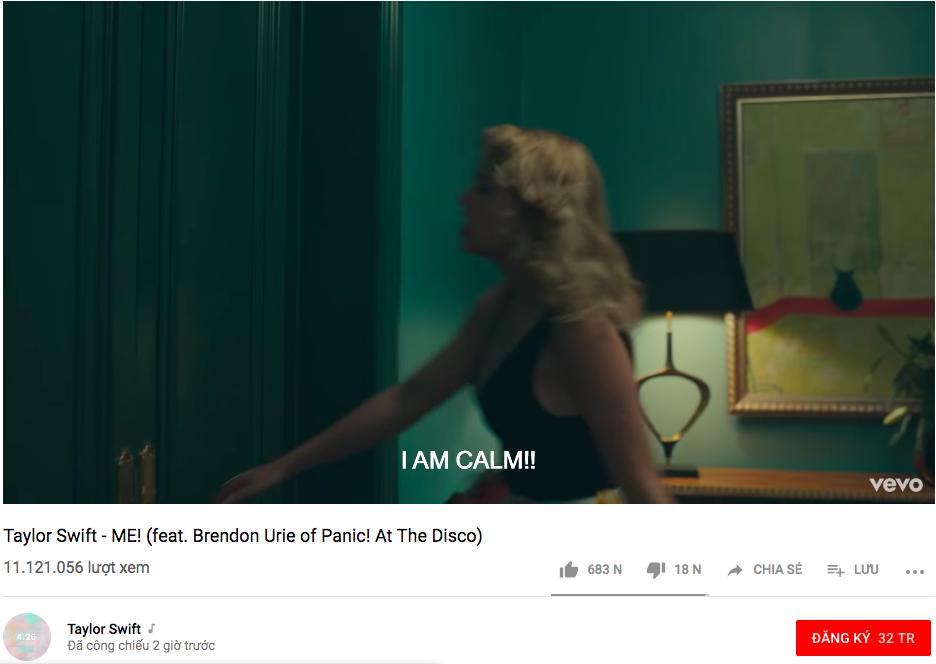 Hạ bệ ngôi vương của BTS, Taylor Swift chính thức trở thành nghệ sĩ sở hữu MV đạt 10 triệu views nhanh nhất mọi thời đại! - Ảnh 1.