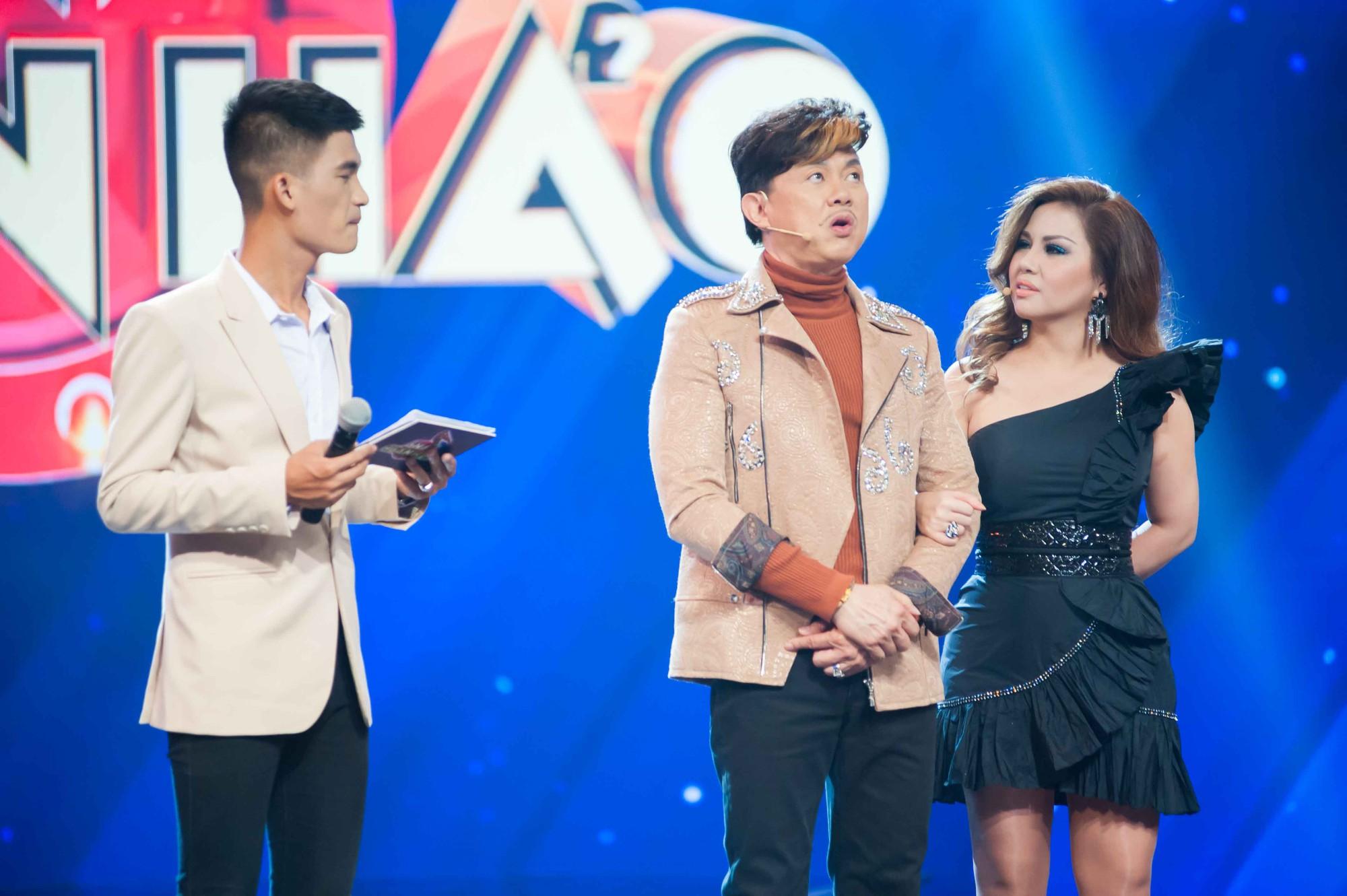 Châu Đăng Khoa bắt MC gameshow giới thiệu căng đét về độ đẹp trai mới chịu xuất hiện - Ảnh 3.