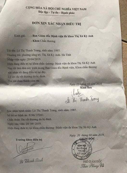 Đăng tin nhắn giữa chồng và nữ giáo viên, 1 phụ nữ tố bị cô giáo xông vào nhà hành hung - Ảnh 2.