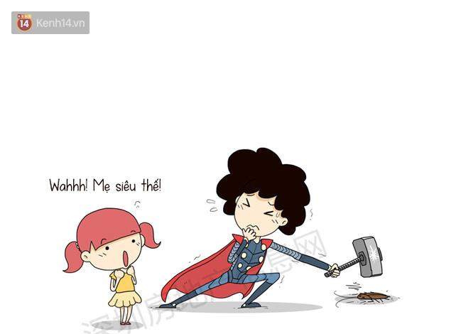 Avengers: Endgame thì cũng hot đấy nhưng nếu so với các siêu anh hùng thì mẹ của chúng ta ngầu hơn là cái chắc! - Ảnh 3.
