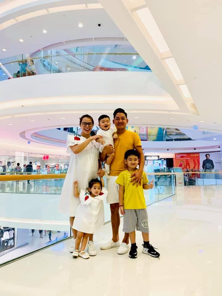 Sao Việt tranh thủ kì nghỉ lễ để đưa hoàng tử, công chúa đi tránh nắng, hào hứng nhất phải kể đến bé thứ 2 - Ảnh 3.