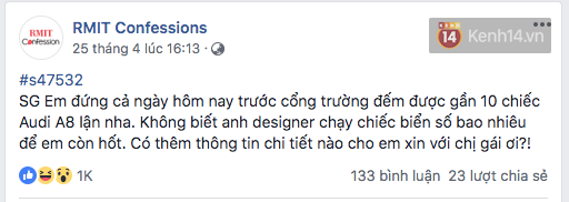 It is true that the richest children's school in Vietnam, RMIT students at Confessions asked to buy BMW or Merc to school, the house has 7 billion, what to do? - Photo 15.