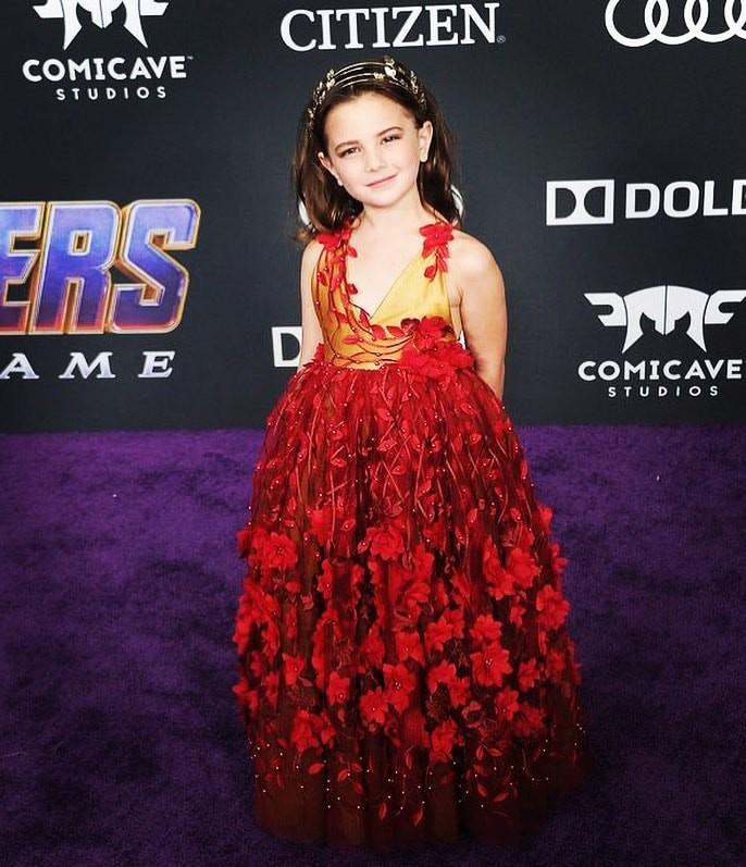 Cận cảnh nhan sắc đỉnh cao của diễn viên nhí đóng vai con gái Iron Man trong Avengers: Endgame - Ảnh 12.
