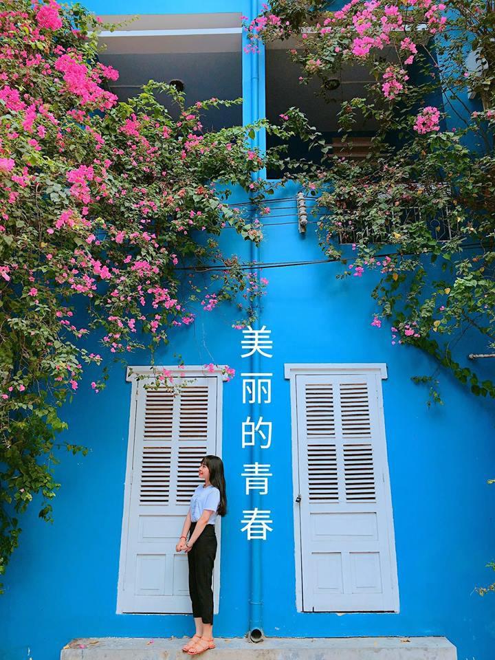 Trường Đại học với màu xanh siêu đẹp mắt, khung cảnh thơ mộng như trong truyện tranh Nhật Bản - Ảnh 9.