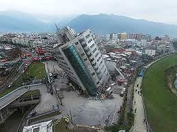 Động đất mạnh 5,6 độ richter ở Đài Loan
