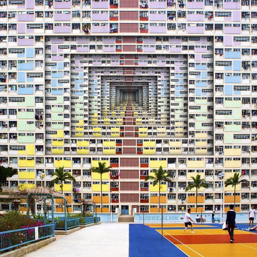 Chiêm ngưỡng một Hồng Kông ảo lòi qua con mắt của nghệ sĩ siêu thực - Ảnh 5.