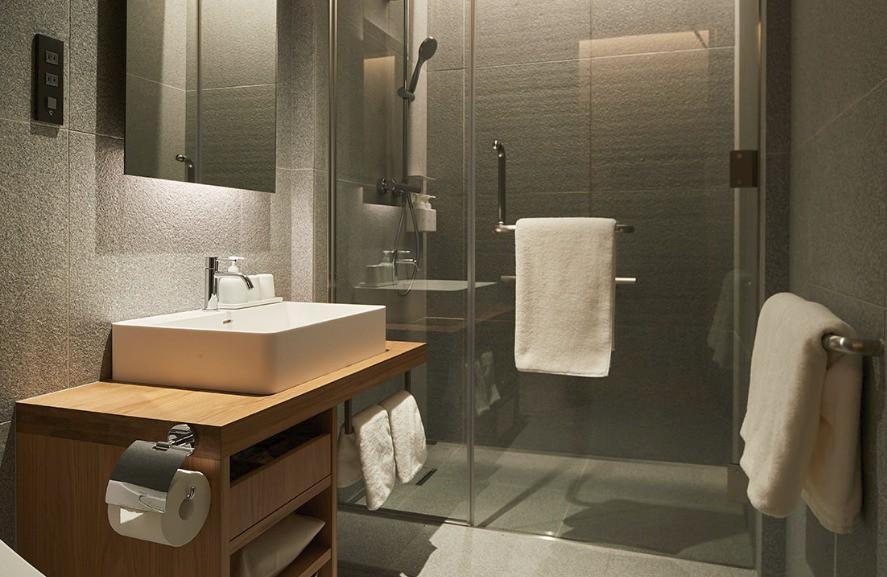 Không chỉ bán mỹ phẩm, Muji Nhật vừa khai trương khách sạn phong cách tối giản, giá sương sương 3 triệu/đêm - Ảnh 9.