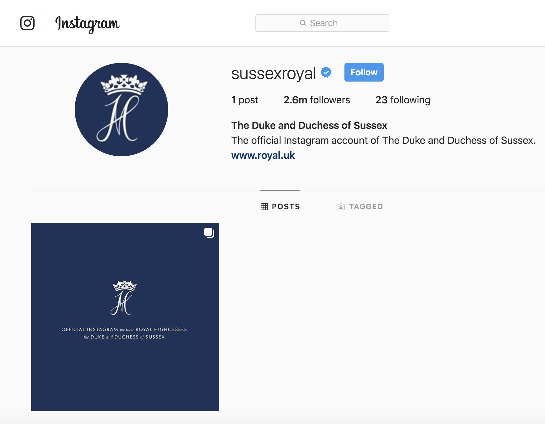 Công nương Meghan và Hoàng tử Harry cho ra mắt tài khoản Instagram riêng khiến MXH dậy sóng - Ảnh 2.