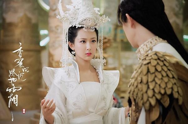 9 cô dâu cổ trang Hoa ngữ trên màn ảnh gần đây, ai là nương tử xinh đẹp nhất trong lòng bạn? - Ảnh 6.
