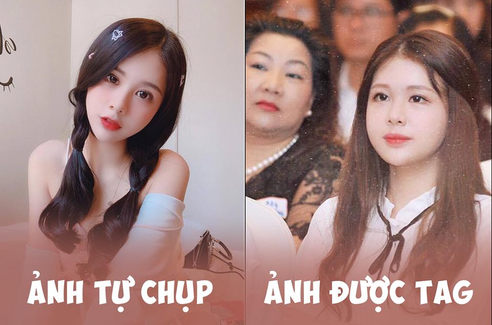 Xem hình selfie quen rồi, girl xinh bị đồn yêu thiếu gia Phan Hoàng bỗng là lạ trong ảnh bị tag - Ảnh 1.