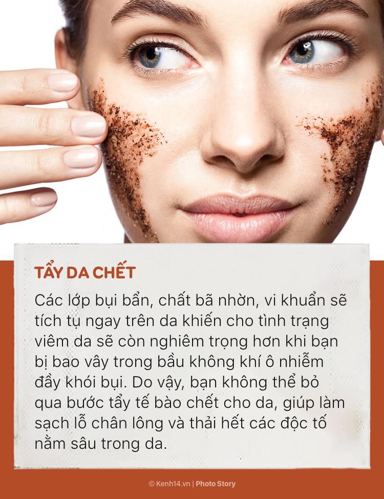 Hãy chăm sóc và bảo vệ làn da của bạn trước sự ô nhiễm không khí trầm trọng - Ảnh 3.