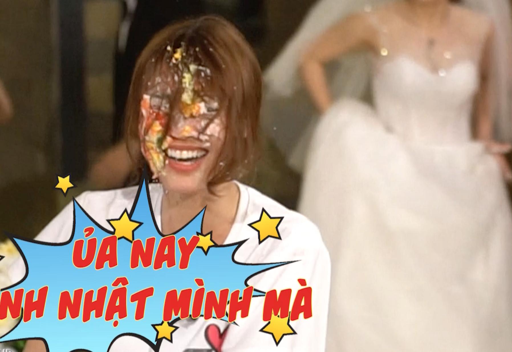 Ninh Dương Lan Ngọc đón sinh nhật lầy lội cùng dàn Running Man nhưng với bối cảnh đám cưới? - Ảnh 5.