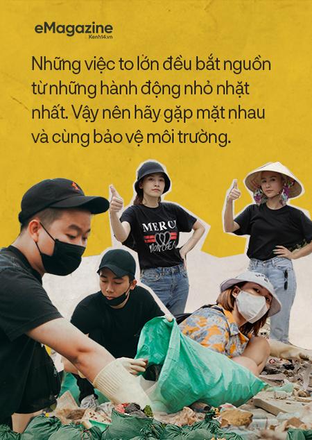 #challengeforchange lan cực rộng trong giới trẻ Việt từ MXH ra đời thực: Chỉ khi cúi xuống dọn rác mới biết loài người xả rác nhiều đến thế nào! - Ảnh 12.