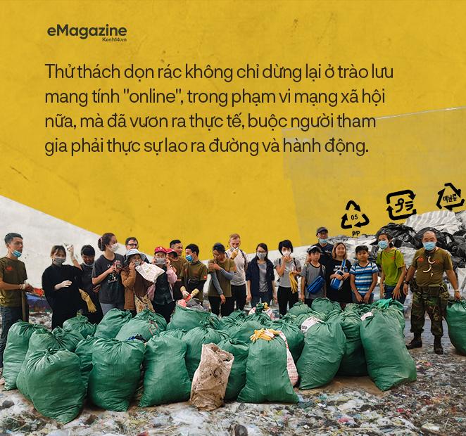#challengeforchange lan cực rộng trong giới trẻ Việt từ MXH ra đời thực: Chỉ khi cúi xuống dọn rác mới biết loài người xả rác nhiều đến thế nào! - Ảnh 6.