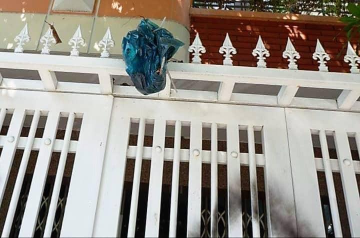 Nhà ông Linh bị khủng bố bằng chất bẩn, xịt sơn sau vụ sàm sỡ bé gái 7 tuổi - Ảnh 3.