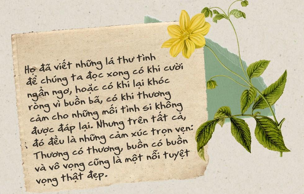Thời buổi nào rồi còn viết thư tay: Thời của tình yêu, những vấn vương và đôi lời không dám nói - Ảnh 2.